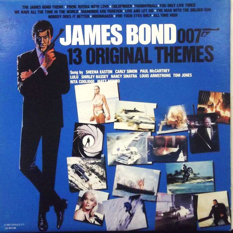 James Bond - 13 Original Themes