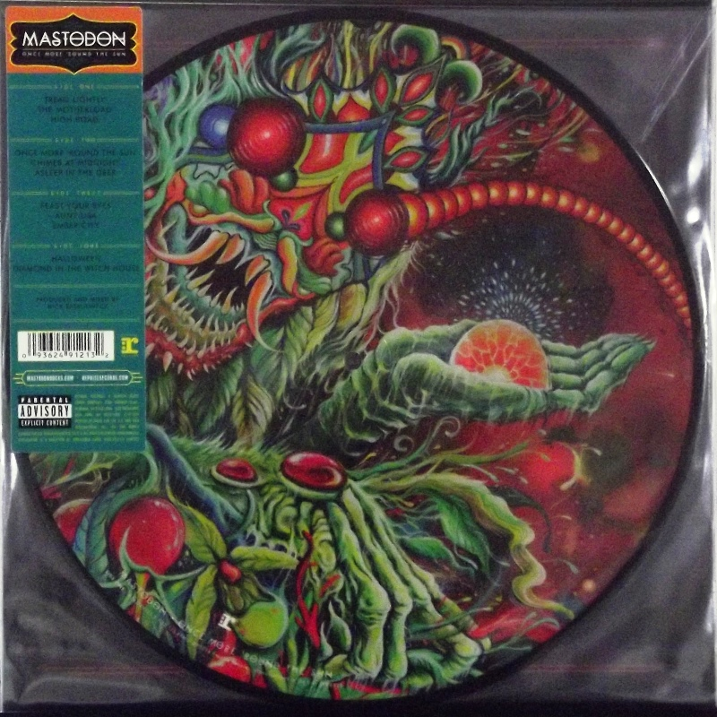 Once More 'Round The Sun  (Picture Disc)