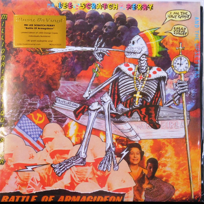 BATTLE OF ARMAGIDEON (Orange Vinyl)