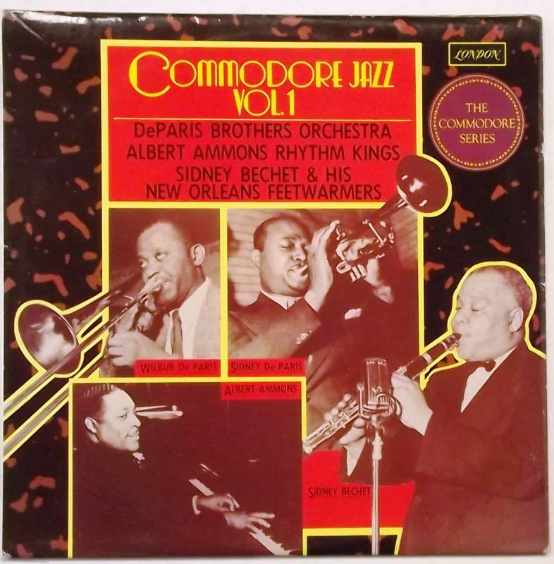 Commodore Jazz, Vol  1 | Just for the Record
