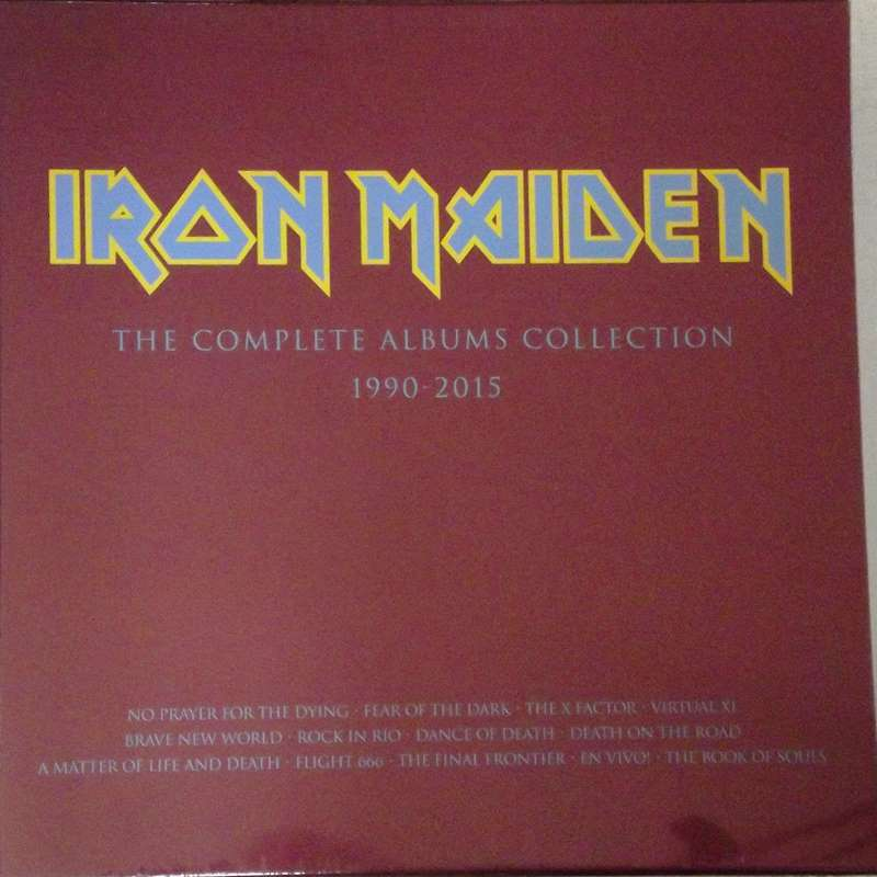 The Complete Albums Collection 1990-2015