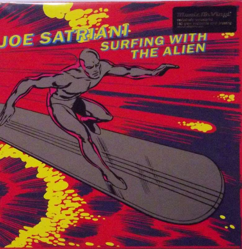Surfing With The Alien Just For The Record
