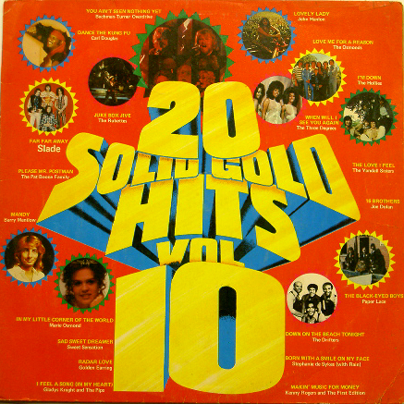 20 Solid Gold Hits: Volume 10