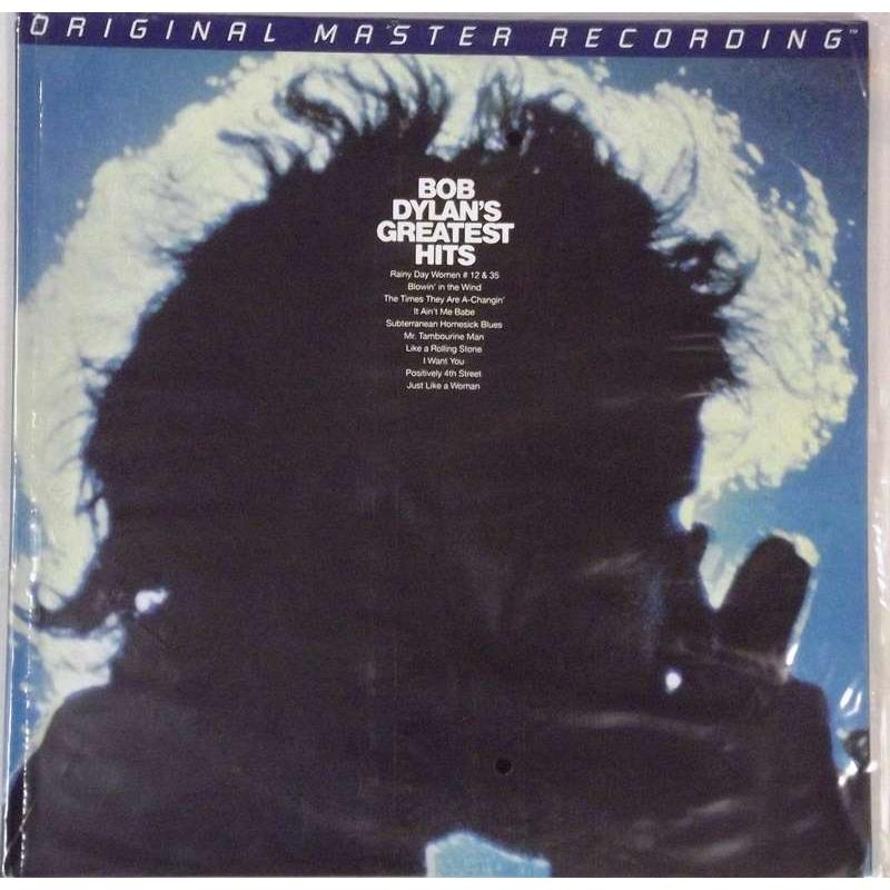 Bob Dylan's Greatest Hits ( Mobile Fidelity Sound Lab Original Master Sound Recording.)