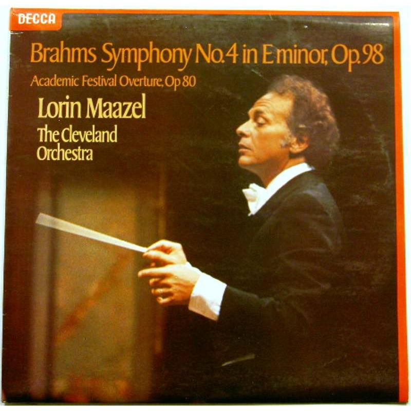 Symphony No. 4 in E Minor, Op. 98 / Academic Festival Overture, Op 80