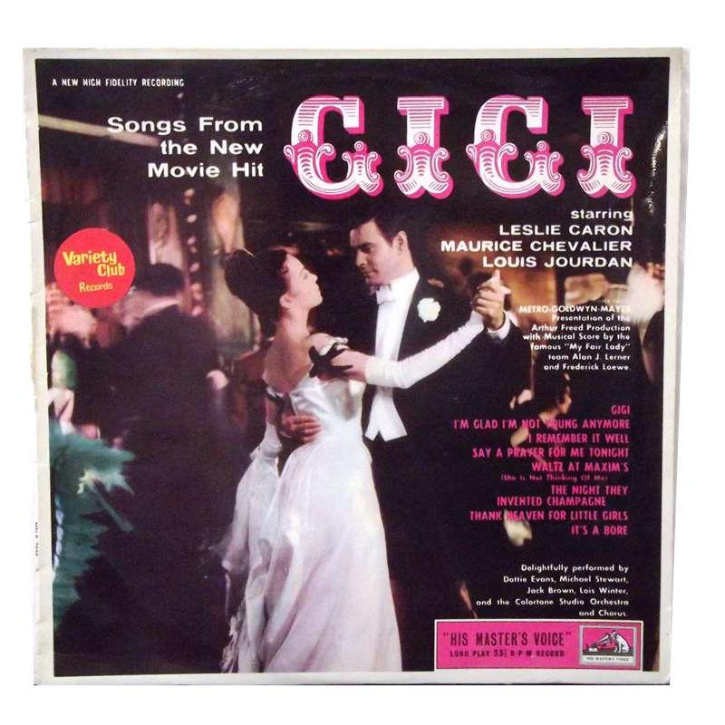"Songs From The  Movie Hit ""Gigi"""