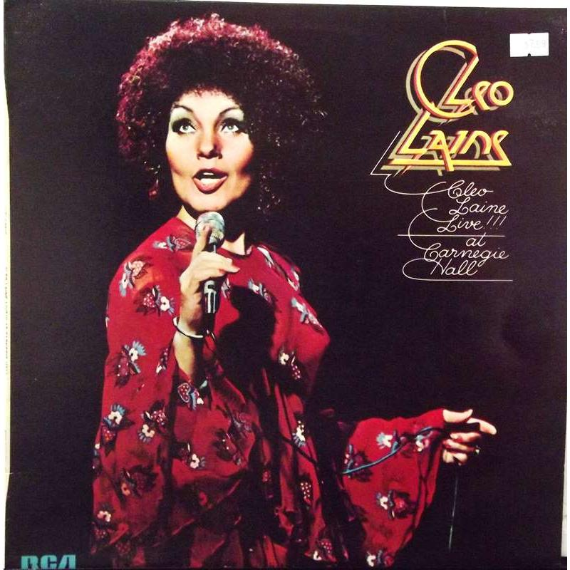 Cleo Laine Live!!! At Carnegie Hall