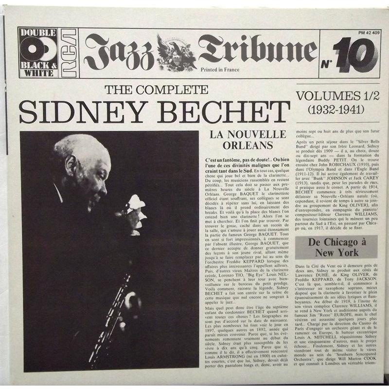The Complete Sidney Bechet Vol 1/2 (1932-1941)