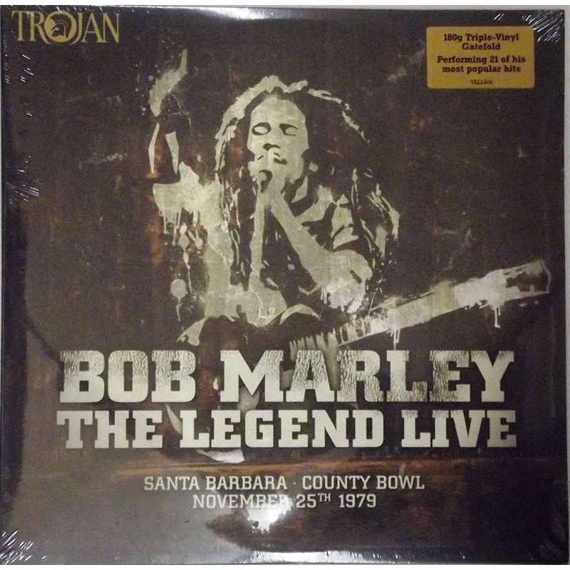 Bob Marley & The Wailers - The Legend Live - Santa Barbara County