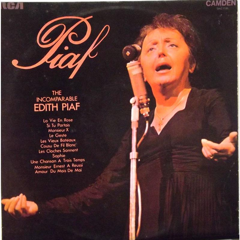 The Incomparable Edith Piaf