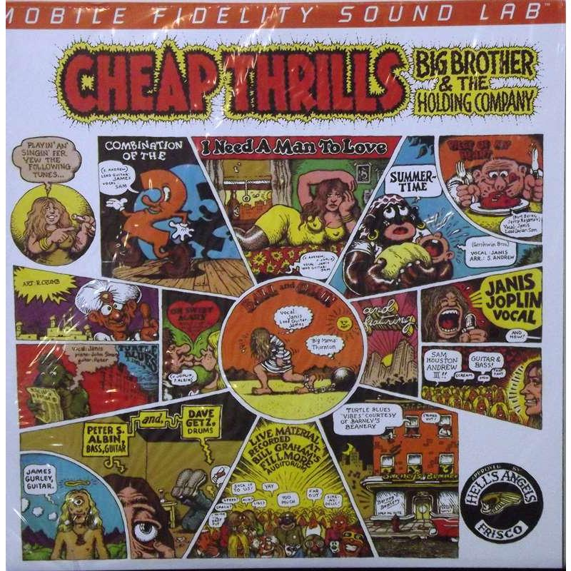 Cheap Thrills ( Mobile Fidelity Sound Lab Original Master Sound Recording.)