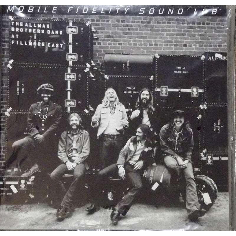 The Allman Brothers Band At Fillmore East (Mobile Fidelity Sound Lab Original Master Recording)