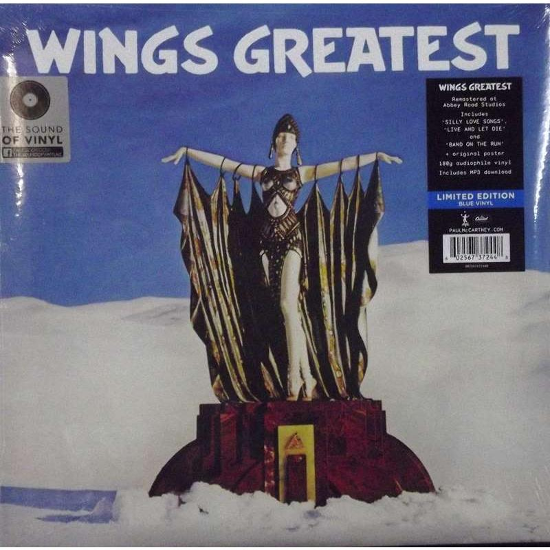 Wings Greatest (Blue Vinyl)