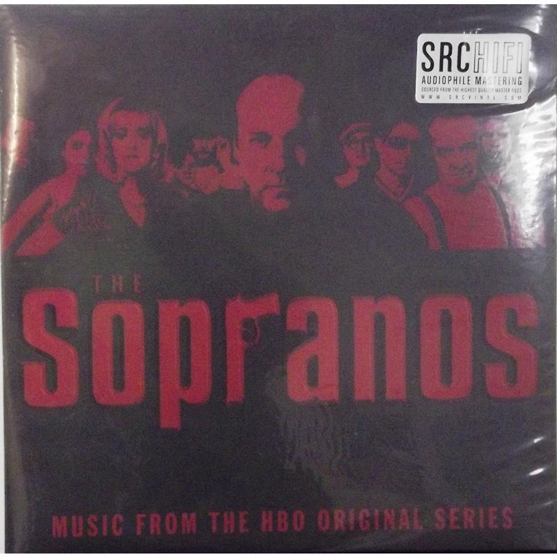 The Sopranos - Music From The HBO Original Series (Red Vinyl)