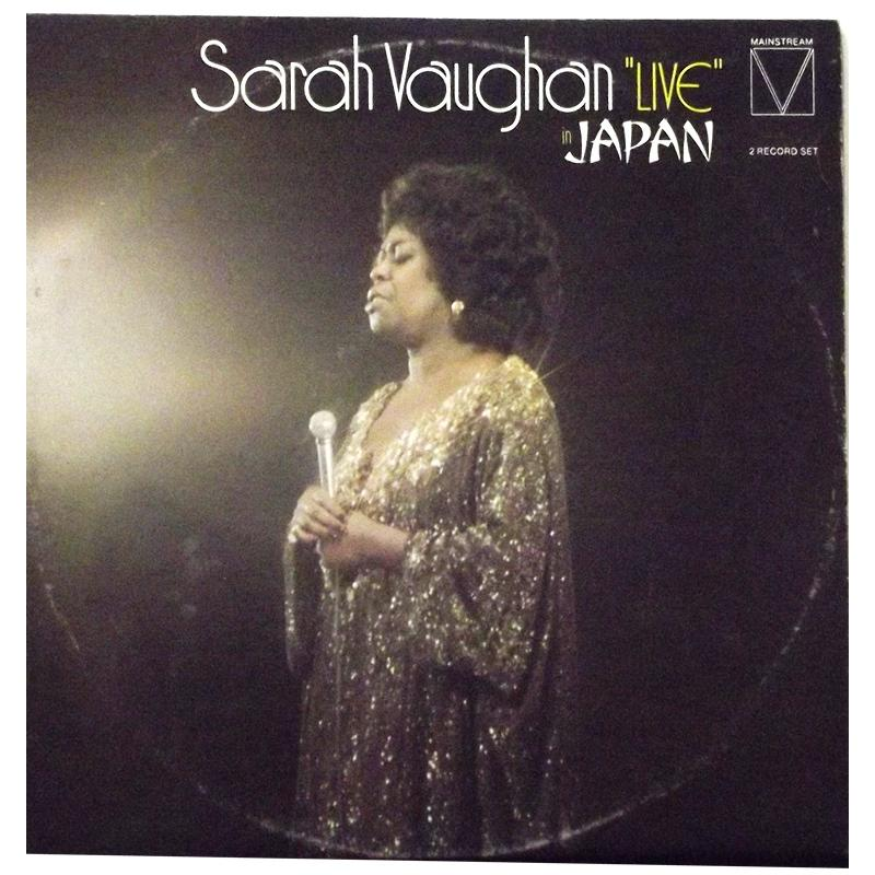 Sarah Vaughan Live In Japan