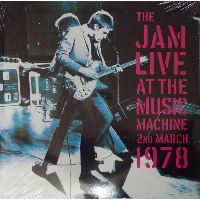The Jam Live At The Music Machine 2nd March 1978
