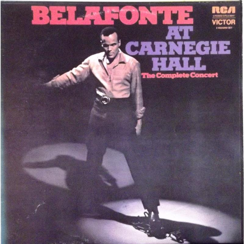 Belafonte At Carnegie Hall: The Complete Concert