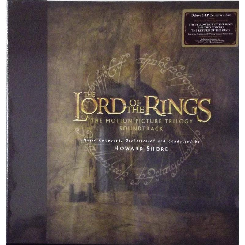 The Lord of the Rings: The Motion Picture Trilogy Soundtrack (Box Set)