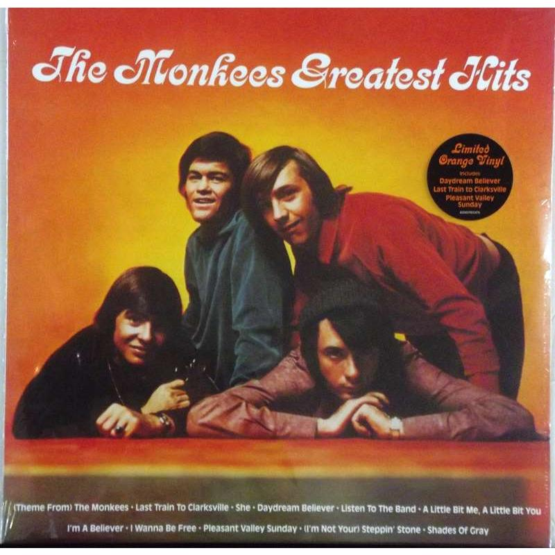 The Monkees Greatest Hits (Orange Vinyl)