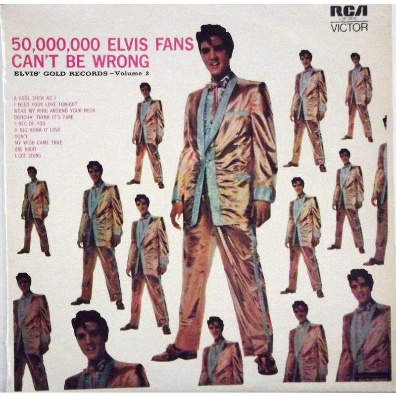 50,000,000 Elvis Fans Can't Be Wrong (Elvis' Gold Records, Vol. 2)