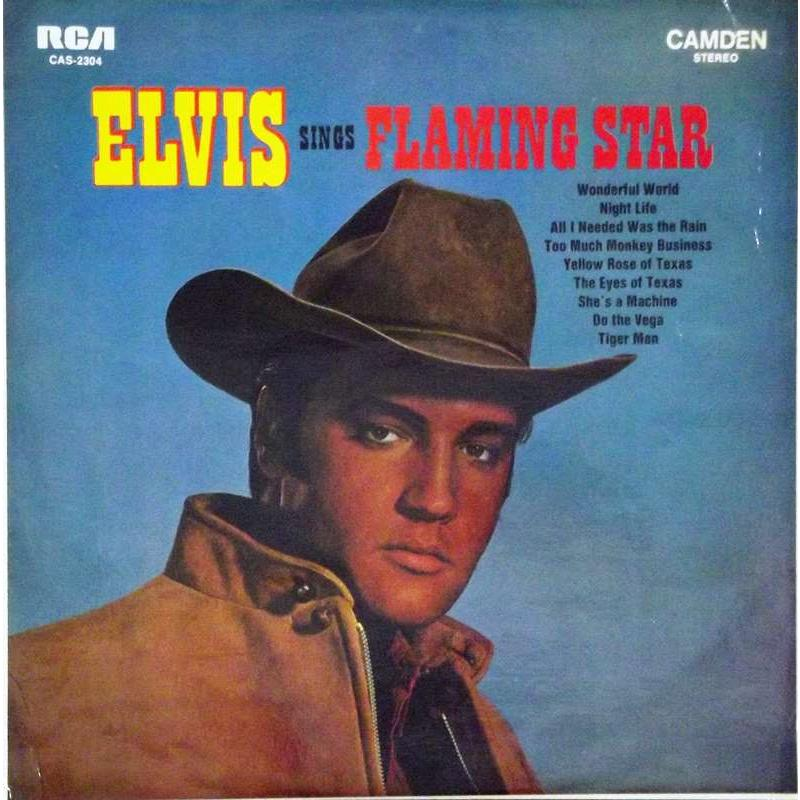 "Elvis Sings ""Flaming Star"""