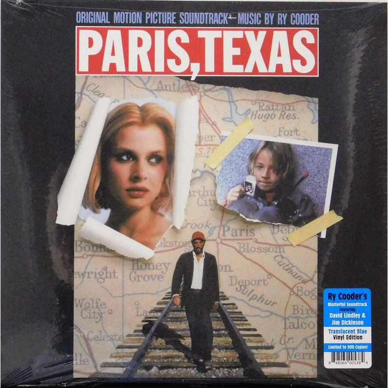 Paris, Texas (Original Motion Picture Soundtrack) Translucent Blue Vinyl