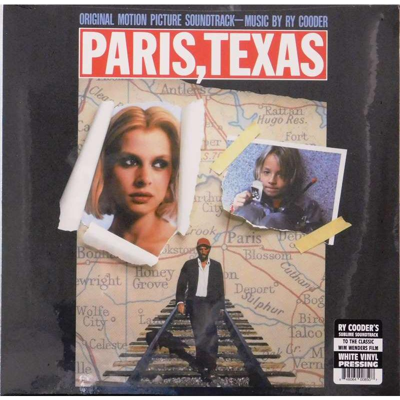 Paris, Texas (Original Motion Picture Soundtrack) White Vinyl