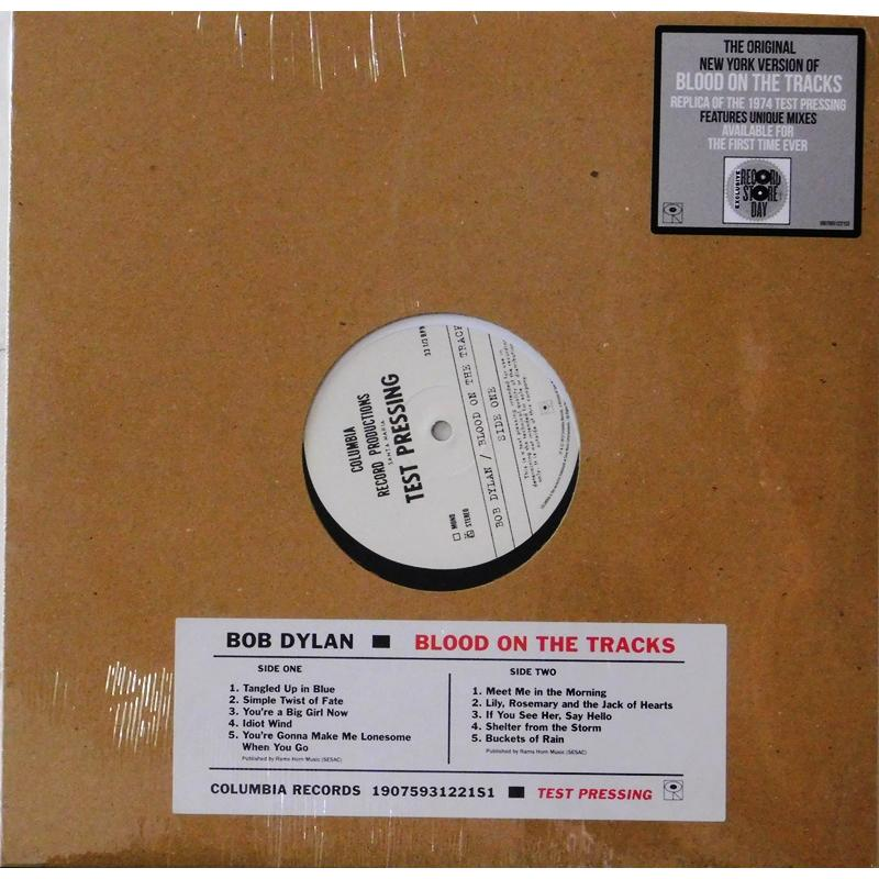 Blood On The Tracks Test Pressing