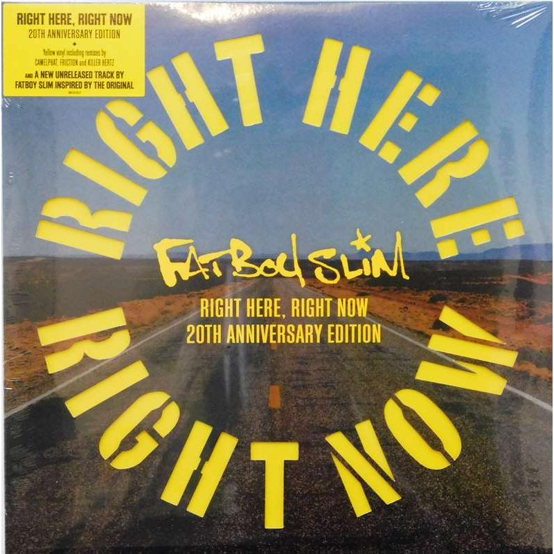 Right Here Right Now  (Yellow Vinyl)