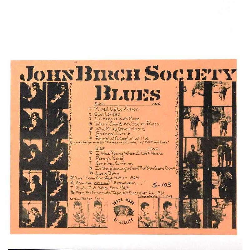 John Birch Society Blues