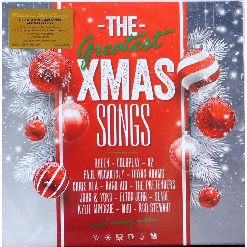 The Greatest Xmas Songs (Red & White Vinyl)