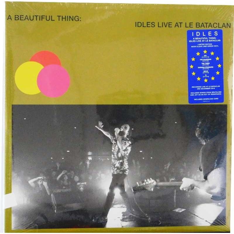 A Beautiful Thing: Idles Live At Le Bataclan (Lime Neon Vinyl)