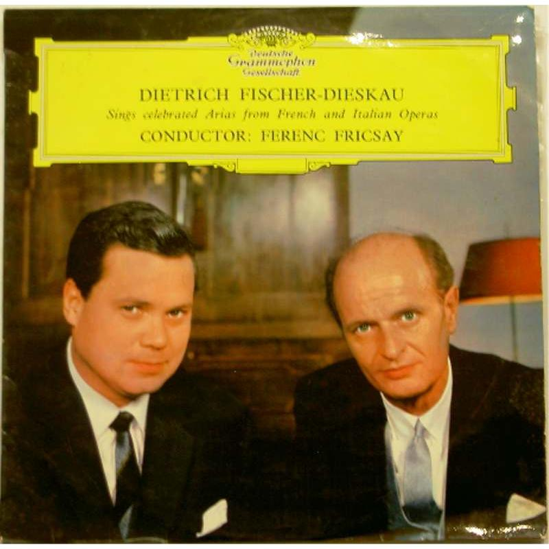 Dietrich Fischer-Dieskau Sings Celebrated Arias from French and Italian Operas