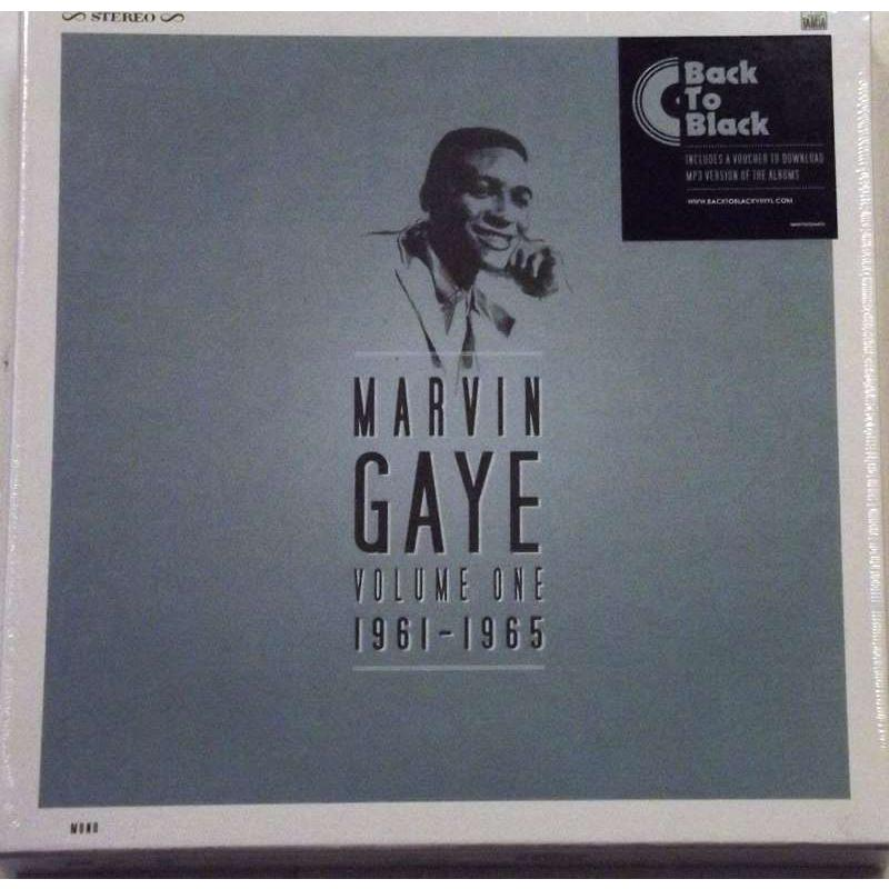 Marvin Gaye 1961-1965 7 LP Box Set