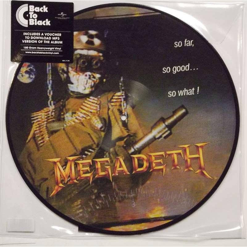 Megadeth So Far So Good So What ( Picture Disc )