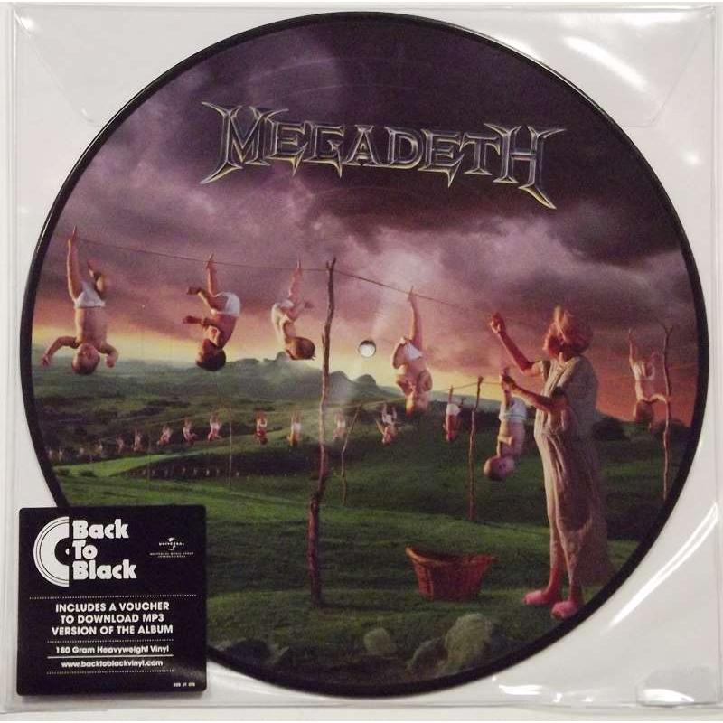 Megadeth- Youthanasia (Picture Disc )