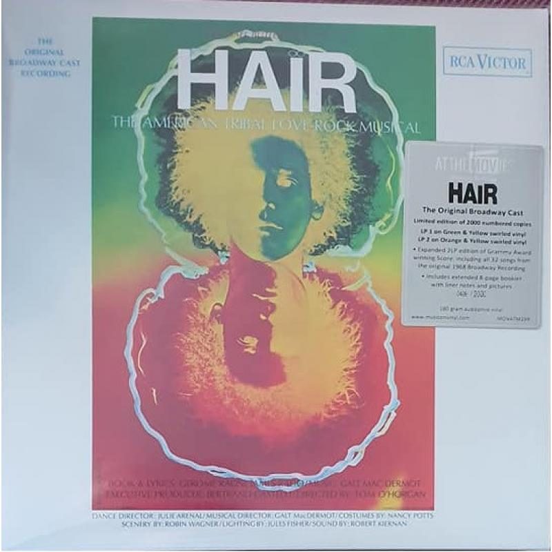 Hair (Original London Cast Recording) Coloured Vinyl