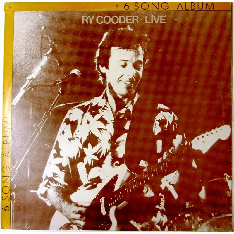6 Song Album: Ry Cooder Live in Europe
