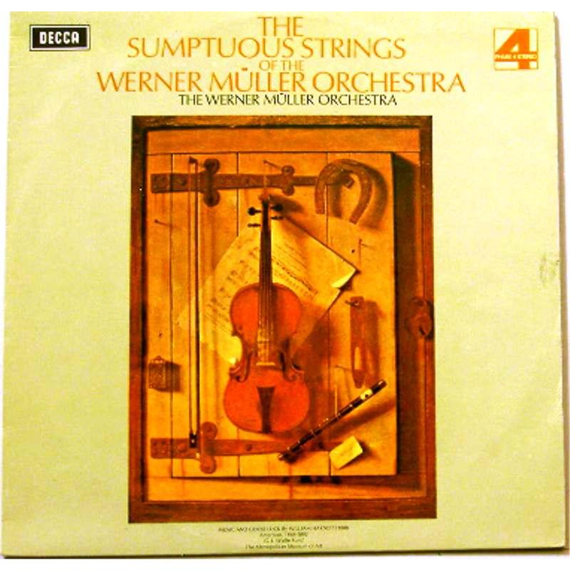 The Sumptuous Strings of The Werner Muller Orchestra