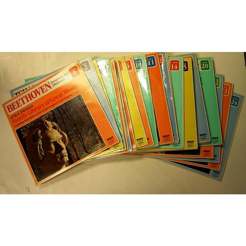 Funk & Wagnalls Family Library of Great Music (Complete: Vols 1-24)