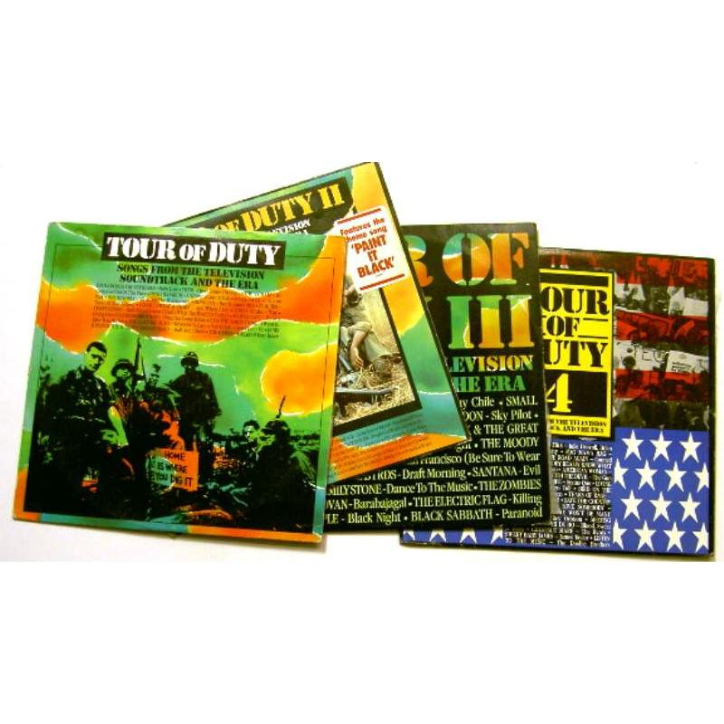 Tour of Duty: Songs From the Television Soundtrack and the Era (Complete Set)
