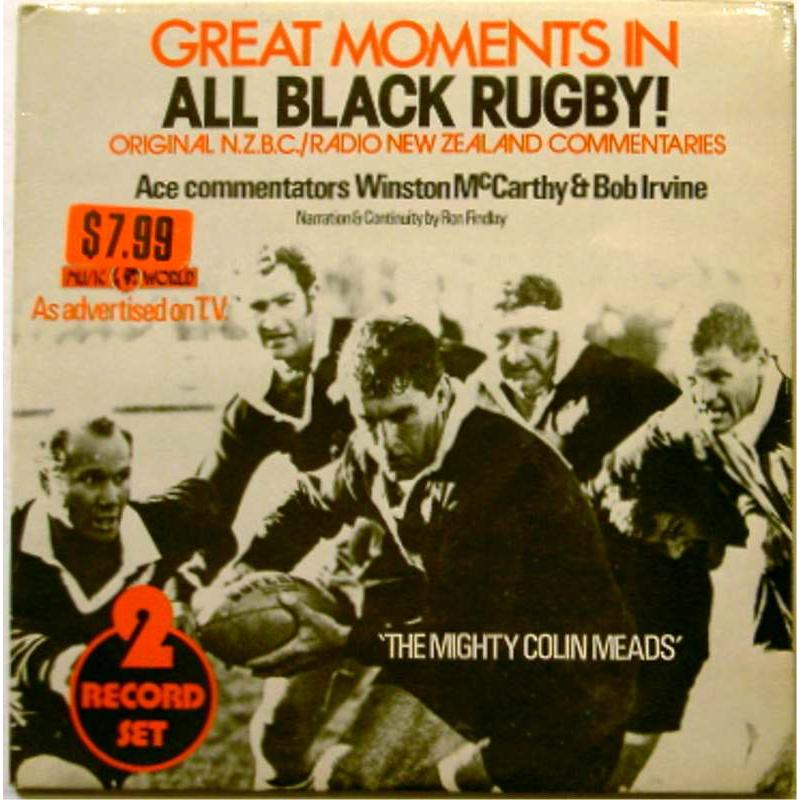 Great Moments in All Black Rugby: Original NZBC / Radio New Zealand Commentaries