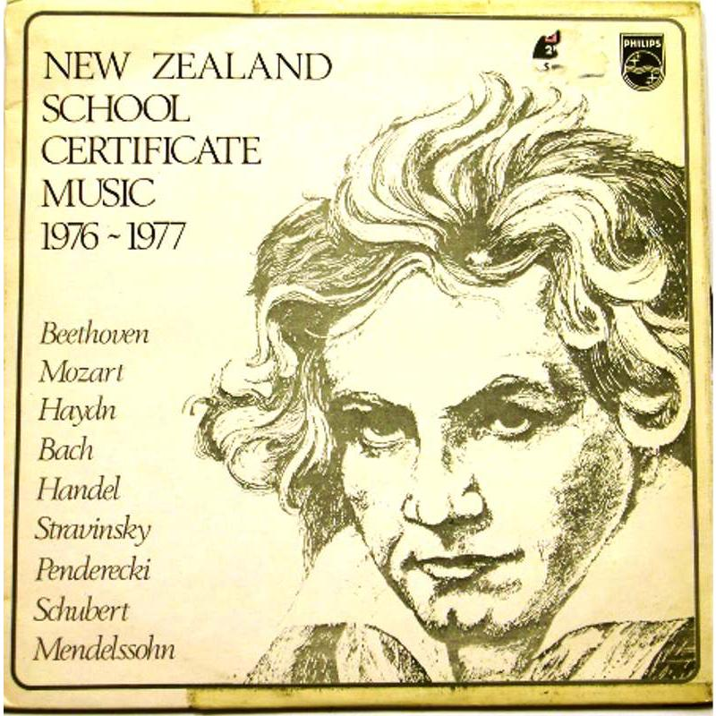 New Zealand School Certificate Music 1976-77