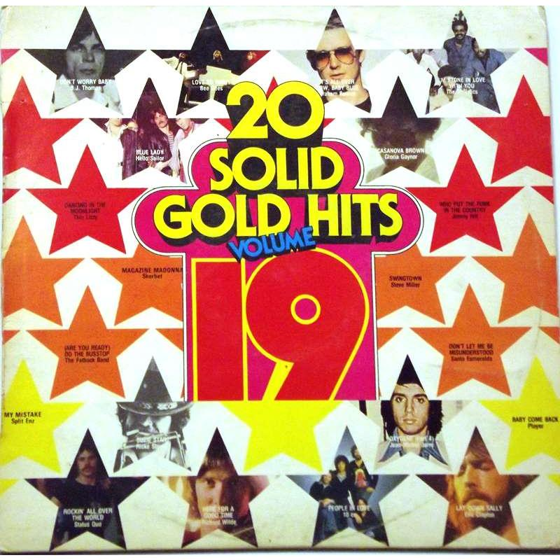 20 Solid Gold Hits: Volume 19