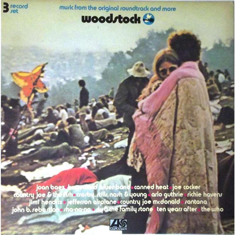 Woodstock: Music From the Original Soundtrack and More (Japanese Pressing) Box Set