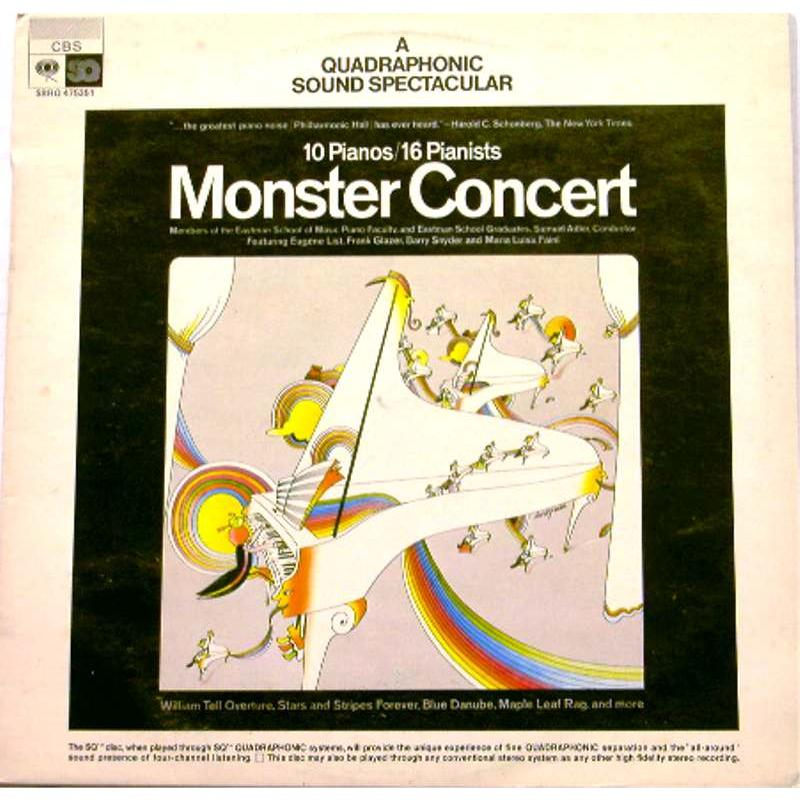 Monster Concert: A Quadraphonic Sound Spectacular