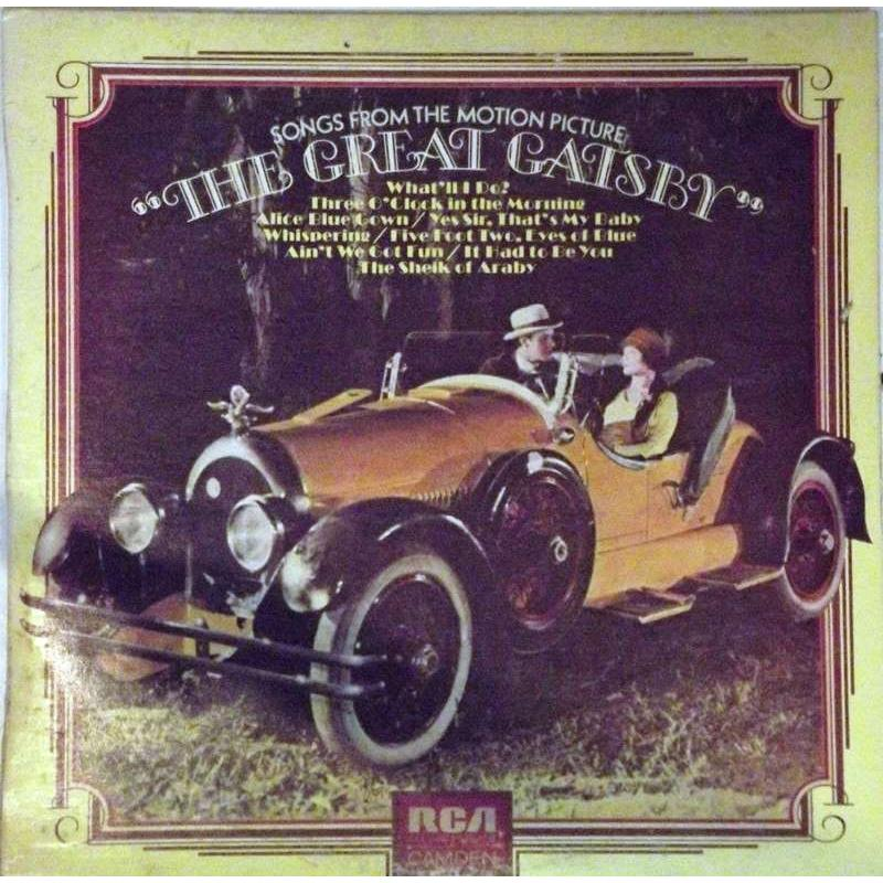 "Songs From The Motion Picture ""The Great Gatsby"""