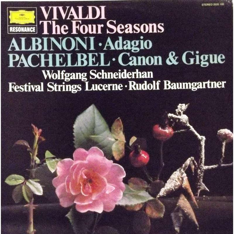 Vivaldi The Four Seasons; Albinoni Adagio; Pachelbel Canon & Gigue
