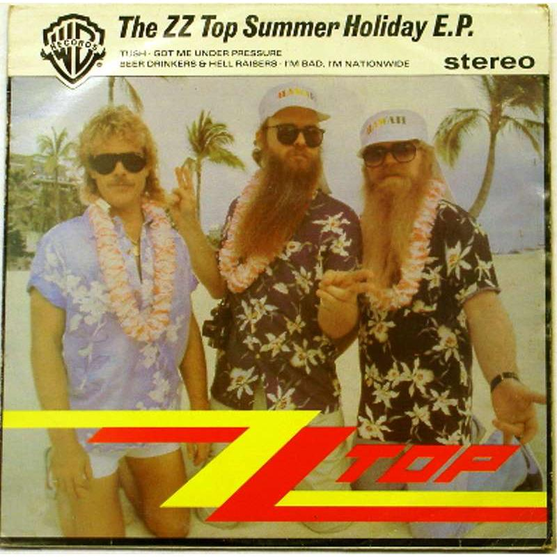 The ZZ Top Summer Holiday E.P.