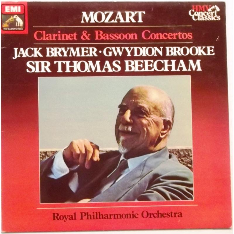 Gwydion Brooke, Jack Brymer, Royal Philharmonic Orchestra*, Sir Thomas Beecham